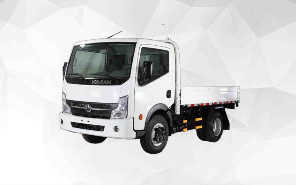 توقف تولید چهار کامیون در ایران