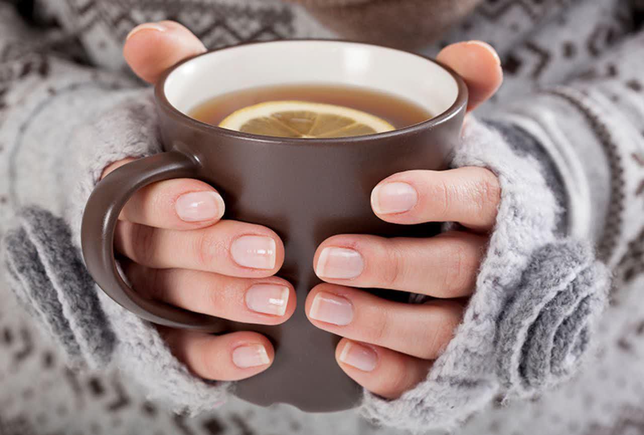فصل سرما مایعات داغ نخورید