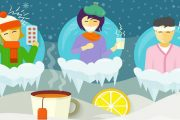 10 بیماری شایع در زمستان