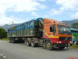 تغییر کرایه کامیون ها به تن کیلومتر