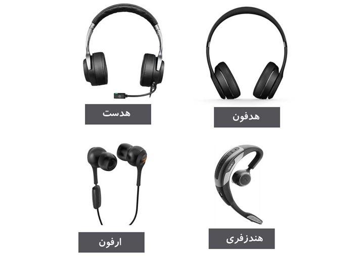 راهنمای خرید هدست، هدفون، هندزفری و ایرفون در ایران