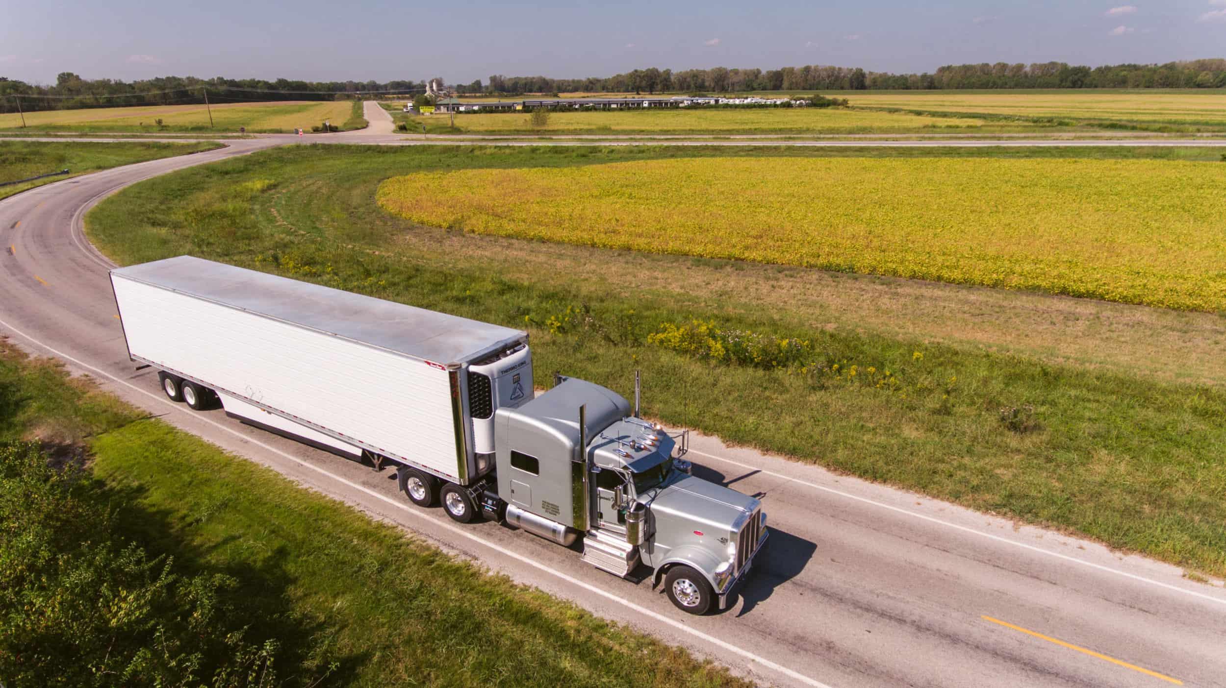 مشکل ناوگانهای چادردار(کامیون ترانزیت)